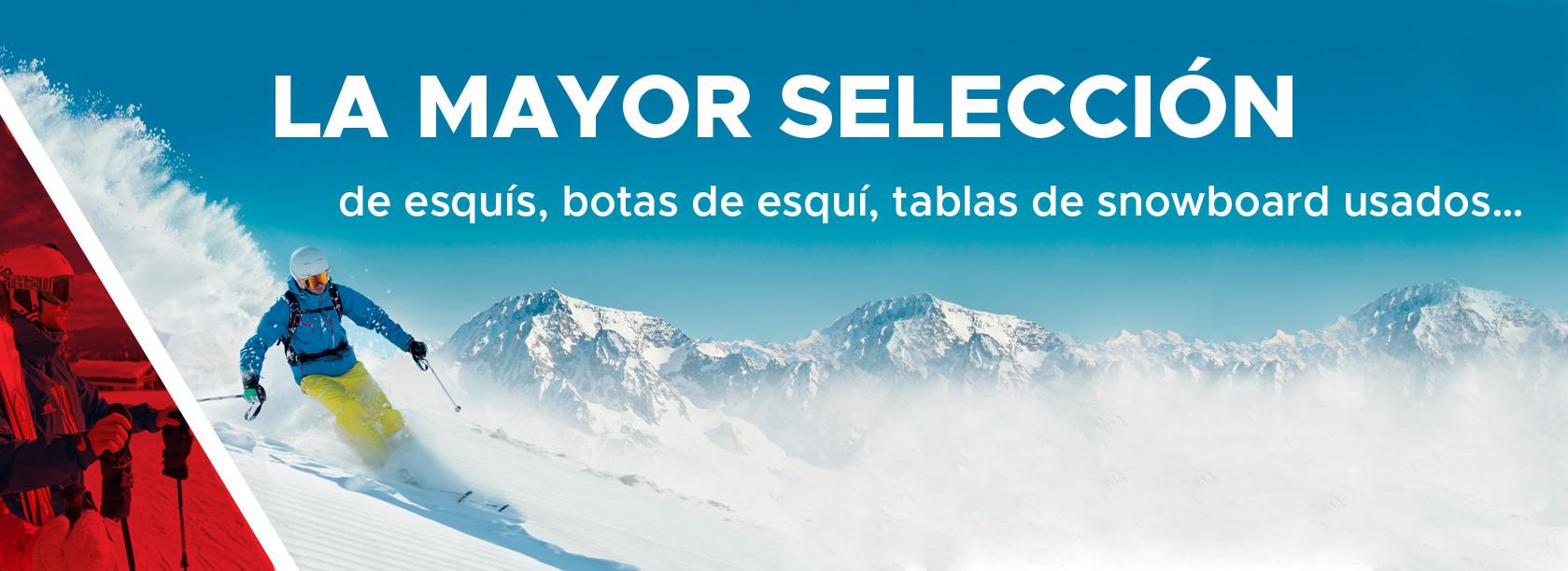 de esquis, botasde esqui, tablas de snowboard usados